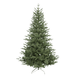 Xmas Green Tree 6ft Christmas Artificial Tree with Metal Stand Tips 650 Decor