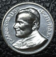 JOANNES PAVLVS II PONT. MAX - POPE JOHN PAUL II MEDALLION - Vatican Coin