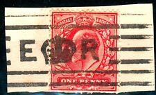 Großbritannien Briefstück mit Mi.- Nr.104 o, feinst