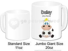 Personalised Gift Farm Animal Silly Cow Jumbo Mug Cup 20oz Custom Novelty Funny