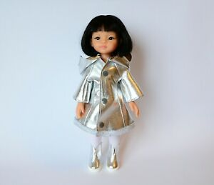 Coat  slicker, shoes for Dolls 13 inch doll Clothes Paola Reina, Les Cheries