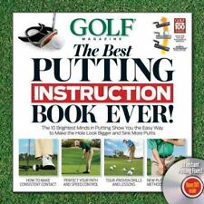 NEW - GOLF The Best Putting Instruction Book Ever!
