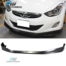 Fit for 11-13 12 Hyundai Elantra MD 4DR OE Front Bumper Lip Spoiler Body kit PP
