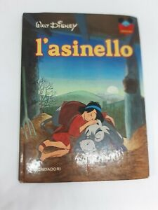 L'ASINELLO WALT DISNEY libro MONDADORI 1979 copertina rigida