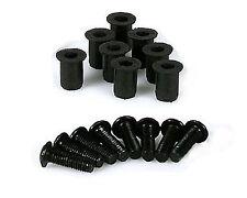 Verkleidungsschrauben Aluminium M5 Gummimuttern Scheibe Verkleidung Schrauben