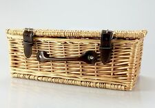 ULTIMATE Real Wicker Hamper Basket BIRTHDAY Thank You New Home