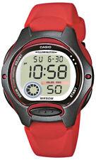 Casio Uhr Kinderuhr LW-200-4AVEF Armbanduhr rot