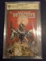 Batman Detective Comics #1000 Planet Comicon Mahnke 9.8 set!