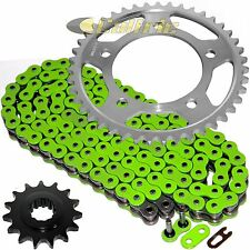 Green O-Ring Drive Chain & Sprockets Kit Fits HONDA CBR600F2 CBR600F3 CBR600SJR