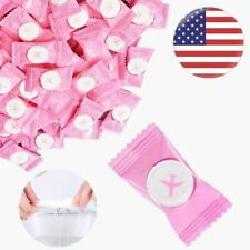 100PCS Compressed Towels Tablet Face Towel Coin Tissue Home Salon Travel Beauty