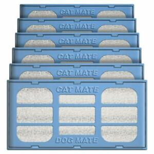 Pet Mate Genuine Replacement Filter Cartridges for Use with Cat and Dog Mate Pet