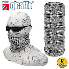 Optical Illusion-438 Headwear Neckwear Snood Scarf Bandana Headband Tube Giraffe