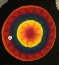 Authentic HEAT Waves Multicolor Rasta Hat