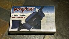 New 90s Jansport Fanny Pack Vintage Hydration Waist pack Bag Plastic Sealed Box