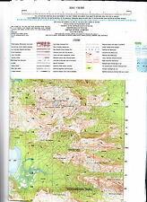 HILLOCK POINT qld  1:50,000  topo Map new, free priority post Australia wide