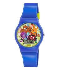 Moshi Monster Digital Lcd Reloj De Pulsera Boy Child Kid azul de regalo presente Nuevo 71136