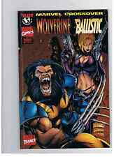 LOT DE 2 MARVEL CROSS OVER 4 WOLVERINE & 6 SPIDERMAN/GEN 13 PANINI COMICS IMAGE