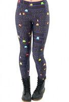 Retro Pac Man Stretch Funky Leggings. New. Festival Wear / Fancy Dress