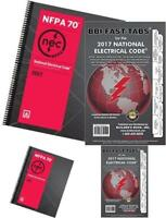 NFPA 70: National Electrical Code NEC Spiralbound and Fast Tabs, 2017 Edition,