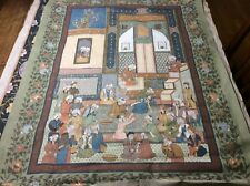 Indo-Persian Silk Painitng Lot 1