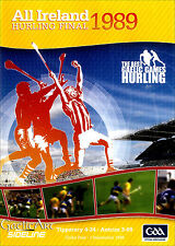 1989 GAA All Ireland Hurling Final:  Tipperary v Antrim  DVD