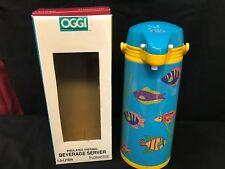 OGGI Fish / Aquarium Beverage Server ~ 1.9 Liter ~ NEVER USED