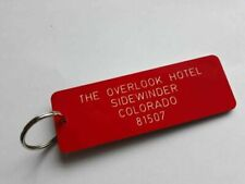Overlook Hotel Key Ring The Shining Jack Nicholson Novelty Tag