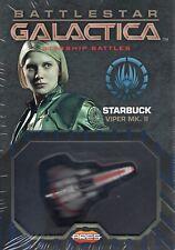 Ares Battlestar Galactica Starship Battles:Spaceship Pack - StarbuckViper Mk. Ii