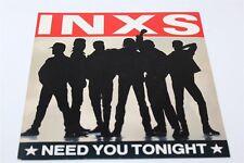 "INXS Need You Tonight 7"" Single Vinyl Record VG+/VG+ 45rpm 1987"