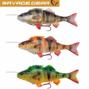 Savage Gear 4D Line Thru PERCH - 17cm 63g and 23cm 145g - All Colours