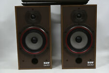 B&W DM110 2-Way Stereo Speakers - Bowers and Wilkins Large Bookshelf Made in UK