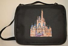 FOR DISNEY PIN BAG TRADING BOOK BLACK PINS CINDERELLAS CASTLE WDW  CASE
