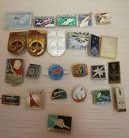 Do you have Set of 24 different Russian USSR soviet space program badges (2)