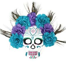 Sugar Skull Mexican Mask Day of the Dead Mask Full Faced Masquerade Mask
