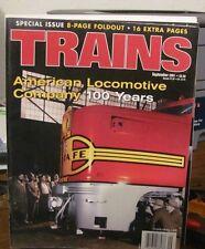 "Vintage ""TRAINS"" magazine September 2001"