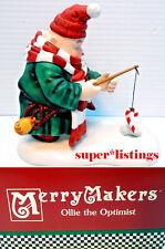 Dept. 56 Merry Makers Ollie the Optimist Retired 1996 New in Box 93973