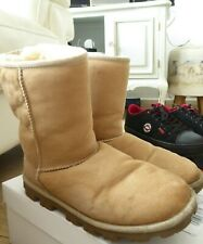 short mid suede UGG boots size UK 6.5