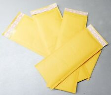 Kraft Bubble Mailer Half Sizes ALL NARROW Long NEW SIZES for THIN and LONG Items