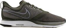 Nike Men Zoom Strike Running Shoes Size 11.5 Cargo Khaki Gray AJ0189 300 - NEW