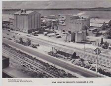 1963  --  UNE USINE DE PRODUITS CHIMIQUES A SETE    HERAULT  3A448