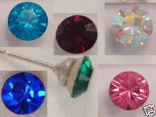 Swarovski Elements Crystal Stud Earrings Gift Wedding Muti colors -Your Choice!