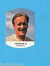 LAMPO-CALCIO 1977/1978-Figurina n.144- LIEDHOLM - MILAN -Recuperata