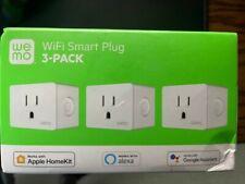WeMo Wifi Smart Plug 3-pack, white, sealed in box