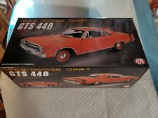 ACME A1806404 1:18 1969 DODGE DART GTS 440 - ORANGE HARD TOP New unopened! WOW!