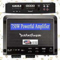 NEW ROCKFORD FOSGATE PRIME R750-1D MONO 750 WATTS MONOBLOCK AMPLIFIER CLASS D