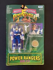 VINTAGE MMPR MIGHTY MORPHIN POWER RANGERS BILLY AUTO MORPHIN MOC