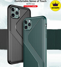 For iPhone 11 Pro Max Shockproof Rugged Case Non-Slip Protective Bumper Cover