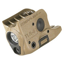 Streamlight  69278 TLR-6 GLOCK 42 & 43 Subcompact Weapon Light & Red Laser FDE