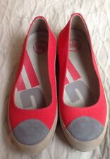 Fitflop Women's  Canvas  Ballet Flats Comfort Loafer Shoes Size 39