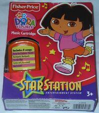 Fisher Price Star Station Nick Jr. DORA the Explorer  Music Cartridge 3+ Years